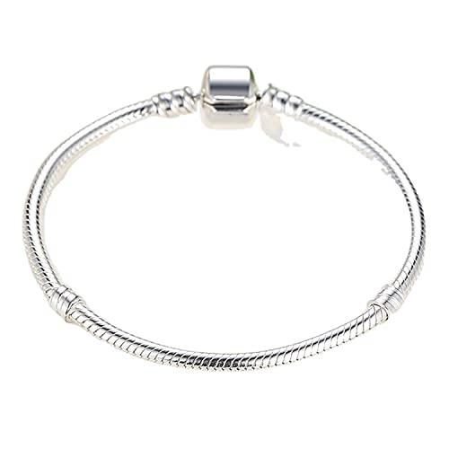 NewL Plata esterlina 925 serpiente cadena brazalete y pulsera para mujer joyería