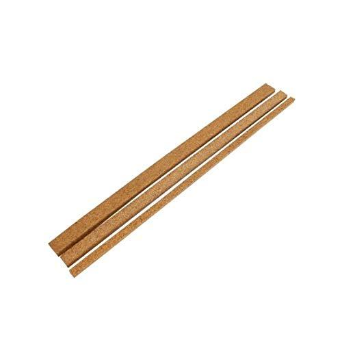 Korkstreifen/Dehnungsfuge/Randleiste aus Kork für Parkett Böden Fenster Türen (10, 10x935x10 mm)