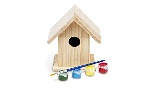 Buiten speel - Casita para pájaros manualidades.