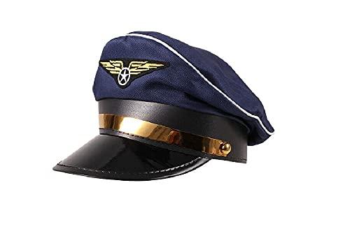 Sonnenscheinschuhe Sombrero de piloto para disfraz de carnaval