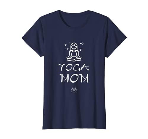 Mujer Yoga Mom - camiseta para madres que aman el yoga Camiseta