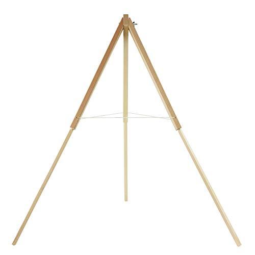 Stronghold S130 - Holzständer für Strohzielscheiben; für Zielscheiben im Bogensport, Bogenschießen, Armbrust, Pfeil und Bogen