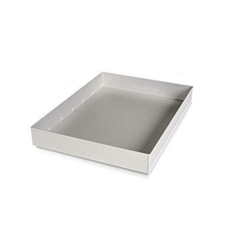 Bordbar Aluminiumschubkasten flach für Trolley und Box