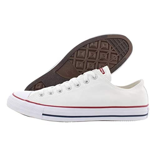 Converse Chuck Taylor All Star Classic High Top Unisex Adults' Trainers White Size: 8 Women/6 Men