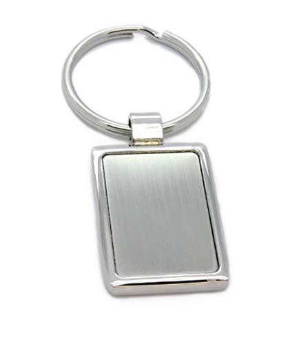 MyOwnName rechteckiger Schlüsselanhänger mit Wunschgravur | tolles Geschenk für Groß und Klein