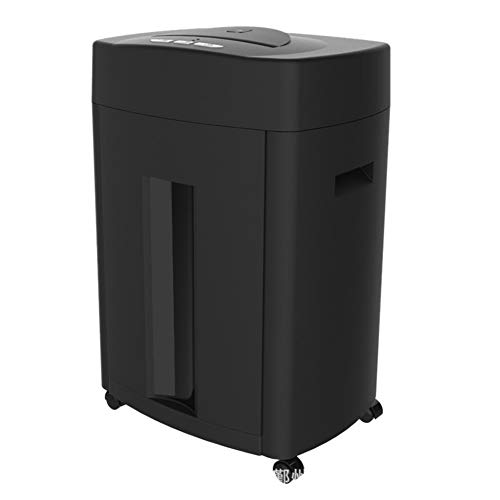 New FEE-ZC 12-Sheet Micro-Cut (320mm) Heavy Duty Paper Shredder, Destroys Cds, Credit Cards, Staples...
