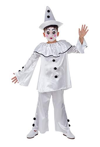 Banyant Toys Disfraz Payaso Pierrot 5-6 aos
