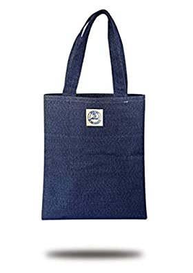 """Shark bags Made in India Multi-Purpose Canvas Tote Bag Unisex/Work/College/Shopping / 17""""x14"""""""