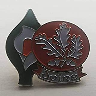 Derry Easter Lily Enamel Pin Badge - Irish Republican Rebel 1916