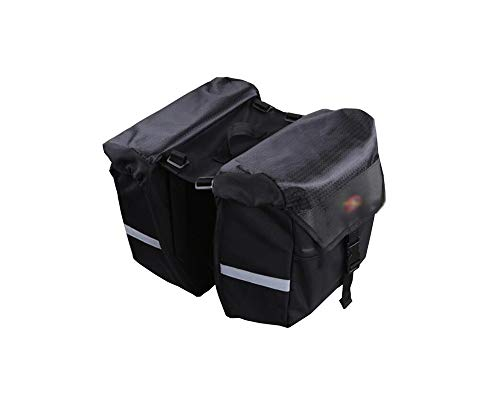 XinQing Bicycle Bag Bicycle Bag Rear Shelf Package Waterproof Suitable for Medium and Short Travel Mountain Bike Equipment Package (Size : S)