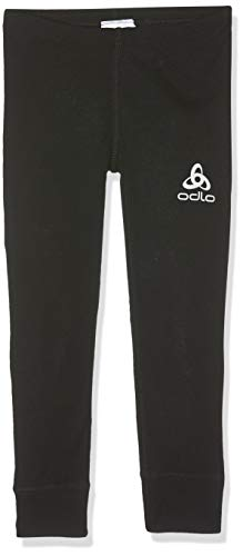 Odlo Kinder Pants Warm Kids, Schwarz (black), 128 CM