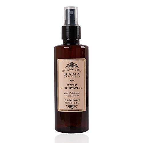 Kama Ayurveda Pure Rose Water Face and Body Mist, 6.7 Fl Oz