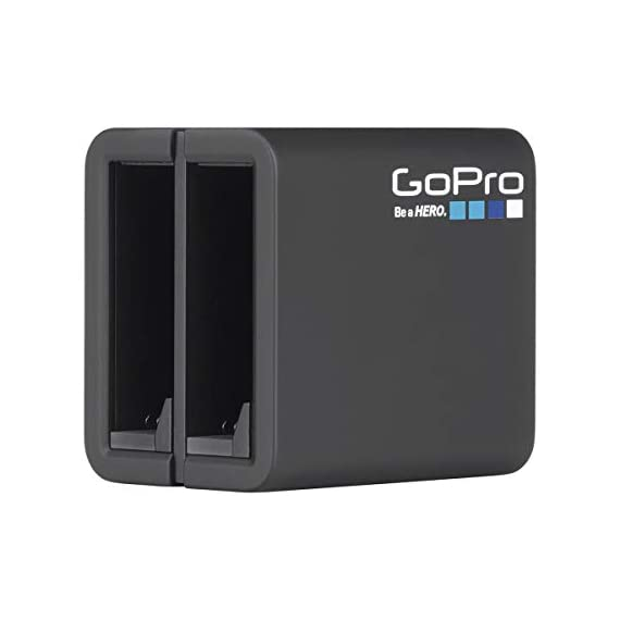 Gopro hero8 black, waterproof digital sports and action camera with touch screen 4k uhd video 12mp photos, power bundle… 9 kit includes: gopro hero 8 black camera (chdhx-801) | rechargeable battery (1220mah) | curved adhesive mount | mounting buckle | usb-c cable | thumb screw| gopro dual battery charger (gpajdbd001) | 3x gopro rechargeable battery (gpajbat001) | sandisk 128gb extreme uhs-i class 10 v30 u3 microsdxc memory card, sd adapter | prooptic complete optics care and cleaning kit key features: 4k60 video + 12mp photos | hypersmooth 2. 0 video stabilization | timewarp 2. 0 time-lapse video | night time-lapse video | 1080p live streaming | superphoto + improved hdr | foldable mount fingers | liveburst image capture | digital lenses (superview, wide, linear, narrow) | rugged + waterproof 33ft (10m) | 8x slo-mo video | 2-inch intuitive touch screen | face, smile + scene detection | 3 built-in mics with reduced wind noise | usb-c charging | wi-fi + bluetooth enabled warranty: gopro authorized reseller. Includes a limited gopro 1 year usa warranty.