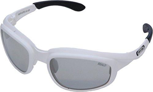 RxMulti3D 3D Brille für MasterImage und RealD 3D Passive 3DTVs, Weiß