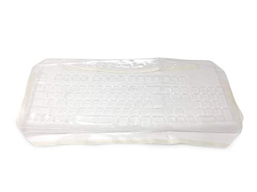 Viziflex's Biosafe Anti Microbial Keyboard cover fitting Microsoft Wired 600 Model 1366
