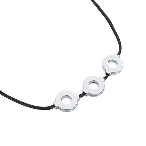 CoolChange Naruto Shippuden Halskette von Itachi Uchiha mit DREI Metall Ringen