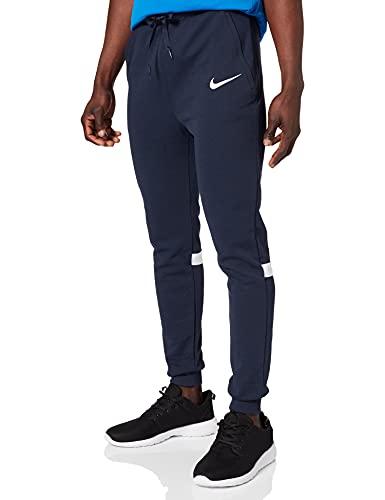 Nike Herren Strike 21 Fleece Pants Freizeithose, Obsidian/White/White, M