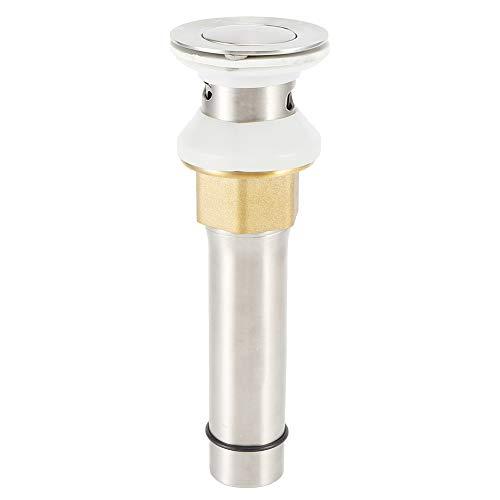 【𝐇𝐚𝐩𝐩𝒚 𝐍𝐞𝒘 𝐘𝐞𝐚𝐫 𝐆𝐢𝐟𝐭】Wasserablauf, einfach zu installieren mit Silikondichtung 304 Edelstahl(D type 304 bounce hole drainer LQ-5393)