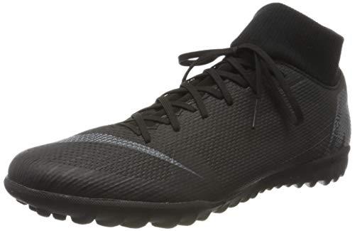 Nike Herren MercurialX Superfly VI Club IC Sneakers, Schwarz (Black/Black 001), 46 EU