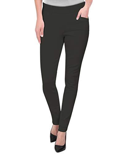Hybrid & Company Womens Super Comfy Millenium Twill Pants KP47812 Charcoal L