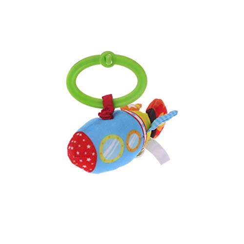 Ydhsja Peluche del Fumetto di crepitio del Bambino Jingle aerrando Il Suo Musical Hand Bell Shaker Culle sospeso ligente Toy Educational Development