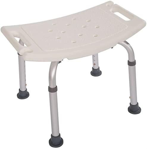 HAO KEAI Duschhocker Duschstuhl Badehocker Duschhocker mit gepolsterten Sitzdusche Sitz for Seniorsg Duschbank Badewanne Handicap Dusche Sitze for Erwachsene (Color : 1)