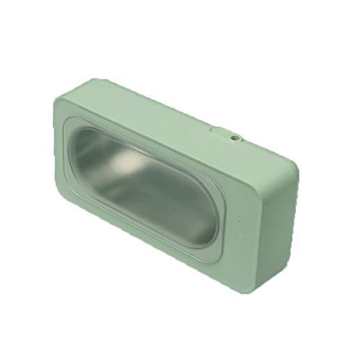 CSDY-Tragbare Ultraschallbrille Reiniger Schmuck Ultraschallreinigungsmaschine,Grün