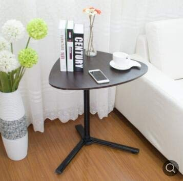 Qgg Overbed Table Coffee Tables 5948CM Multipurpose Heart-Shaped Coffee Tables Tea Table Side Table Laptop Desk (Color : Picture Color)