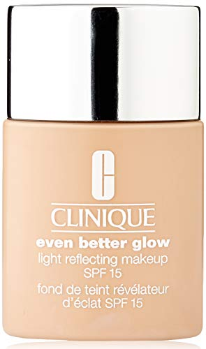 Clinique Even Better Glow Light Reflecting Makeup SPF 15 Foundation CN 28 Ivory, 30 ml