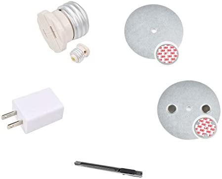 OFFicial site Magnetic Bombing new work Recessed Lighting Trim Mount E26 w. Tool Installation