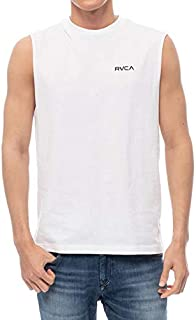 20 RVCA ルーカ シャツ BACK RVCA TANK タンクトップ メンズ 2020年春夏 品番 BA041-353 日本正規品 Mサイズ SWT(ホワイト)