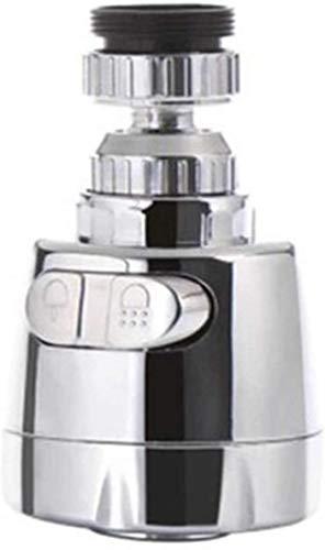 YSNJG Adaptador de grifo a prueba de salpicaduras Grifo giratorio de cocina móvil giratorio 360 grados grifo del fregadero, utilizado para cocina y baño