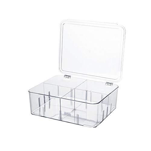 MIGUOR Organizador del cajón del refrigerador del envase del almacenamiento de alimentos,Contenedores del organizador del refrigerador