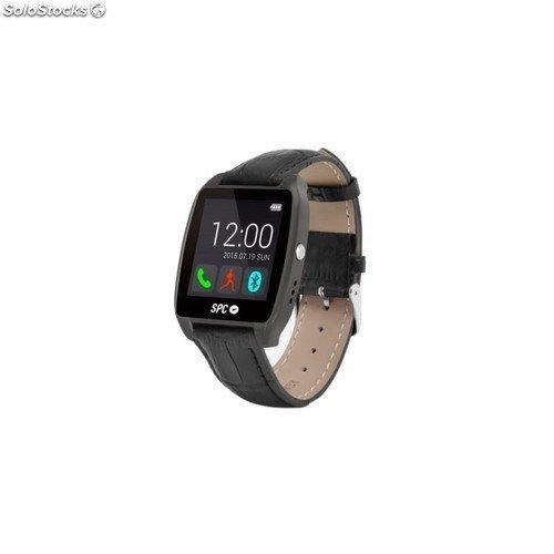 SPC Smartee Watch Edition Reloj Inteligente Negro 9606T - Relojes Inteligentes (Pantalla táctil, Titanio)