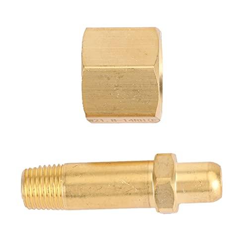 Tuerca derecha y tuerca NPT1 / 4 Presión de latón Reducción del regulador del regulador del cilindro/accesorios del cilindro