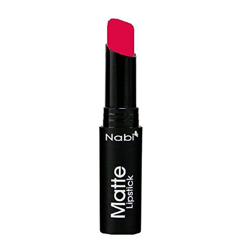 戸口ゲート通路(3 Pack) Nabi Cosmetics Matte Lipstick - Matte Real Red II (並行輸入品)