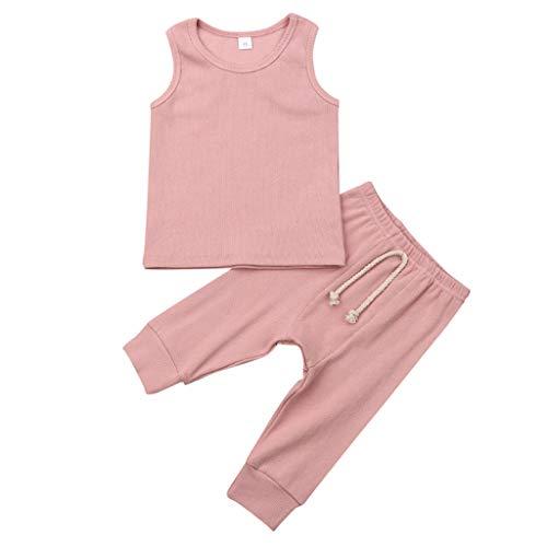 Julhold Pasgeboren Baby Meisjes Bbys Casual O-hals Vest Top Broek Leggings Outfit Set Zomer Kleding Party 2019 Nieuwe