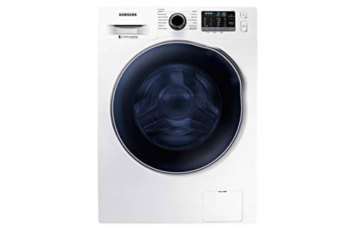 Samsung WD80J5B30AW/ET Airwash Lavadora Ecolavado, Carga frontal, 8 + 6 kg, 1400 Rpm, Blanco, Clase de eficiencia energética B
