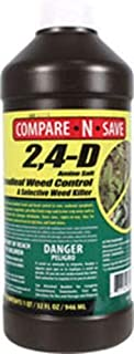 Compare-N-Save 2-4-D Amine Broadleaf Weed Killer, 32-Ounce