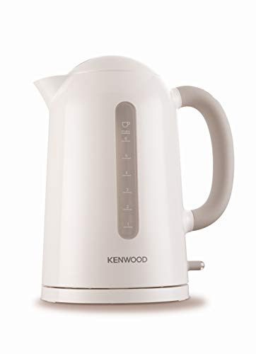 Kenwood JKP 230 True Wasserkocher / 1,6 Liter / 2200 Watt / Flip-Top-Deckel / weiß