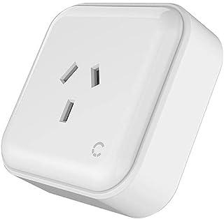 Cygnett Smart Wi-Fi Plug 10A + Power Monitoring - AU - Google, Alexa & Apple HomeKit - Smart Socket, WiFi Power Switch, Sm...