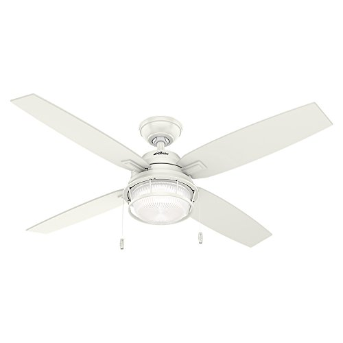Hunter Ocala Indoor / Outdoor Ceiling Fan with LED Light and Pull Chain Control