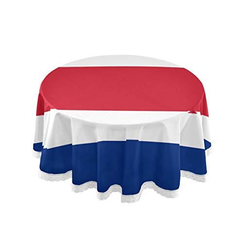 All3DPrint - Mantel Redondo Bandera Costa Rica 150