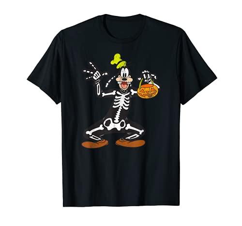Disney Goofy Skeleton Halloween T-Shirt
