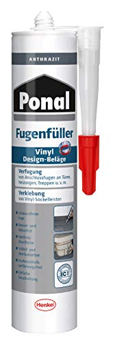Ponal PV6AN Fügenfüller für Vinyl Design-Beläge, Anthrazit