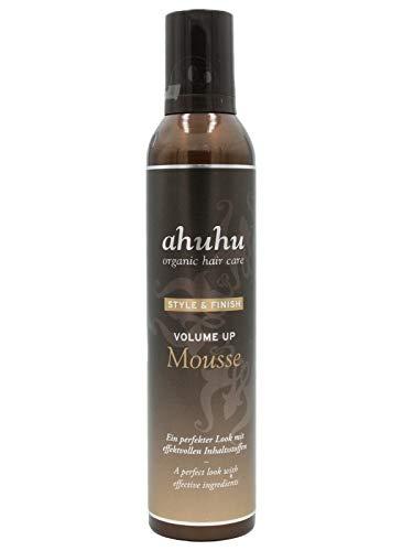 ahuhu Style & Finish Volume Up Mousse 300ml (ohne Silikone)