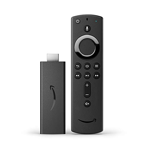 Fire TV Stick con mando por voz Alexa (incluye controles del TV), streaming HD, modelo de 2020