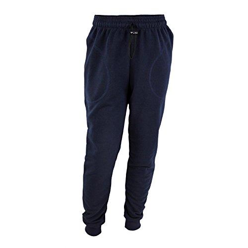 TupTam Jungen Jogginghose mit Bündchen Unifarben, Farbe: Dunkelblau, Größe: 122 cm