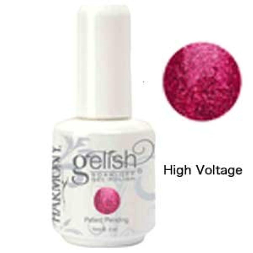 セクタ想起オーバーフローHarmony gelishソークオフジェル-High Voltage 15ml [海外直送品][並行輸入品]