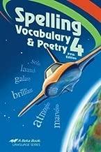 Spelling, Vocab, Poetry 4